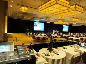 corporate audio visual services