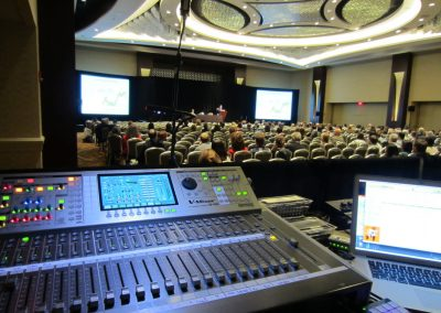 Sheraton Hotel - Event Audio VIsuals